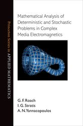Mathematical Analysis of Deterministic and Stochastic Problems in Complex Media Electromagnetics$