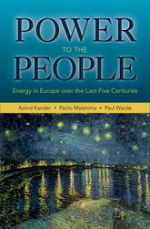 Power to the PeopleEnergy in Europe over the Last Five Centuries$