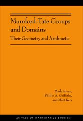 Mumford-Tate Groups and DomainsTheir Geometry and Arithmetic (AM-183)$