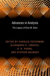 Advances in AnalysisThe Legacy of Elias M. Stein$